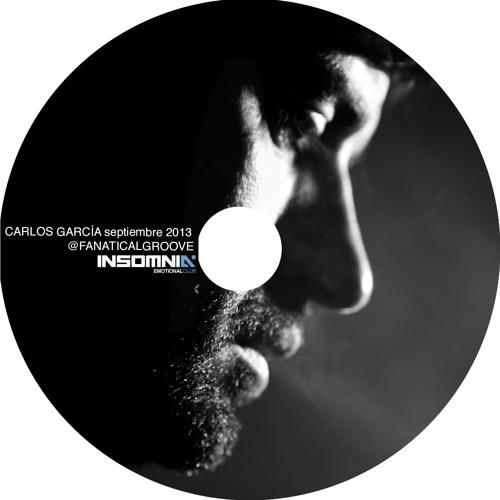 cd CARLOS GARCÍA #RENTRÉE2013 @INSOMNIA EMOTIONAL CLUB