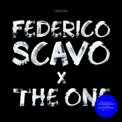 "Federico Scavo ""The One""  X Records"