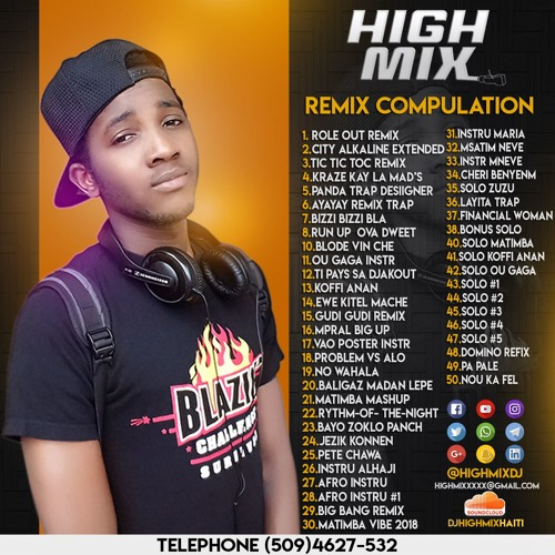 DJ HIGHMIX BEST REMIX ft TBABAS BLACKMAYCO TONYMIX AIDELAZA